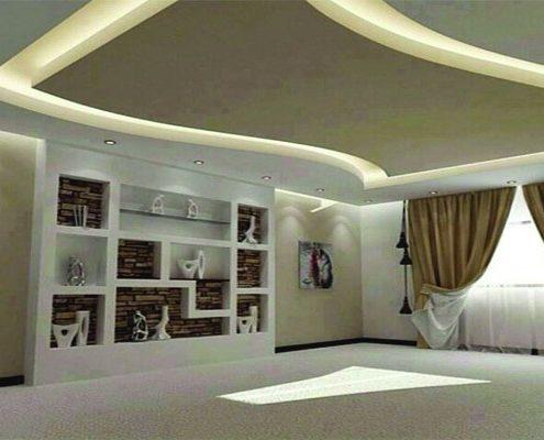 Faux-Plafond-BA13-Sénégal--495x400 Idées De Décoration  Sensys Afric - Laissez libre court à votre imagination