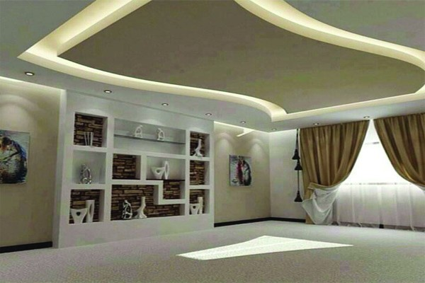 Stunning modele faux plafond design ideas for Exemple de faux plafond