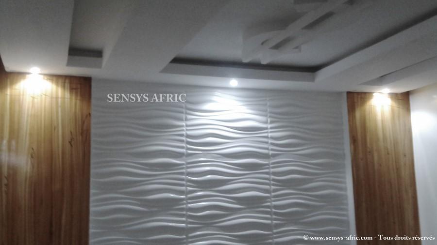 Faux plafond pour salon sensys afric sensys afric for Faux plafond pour salon