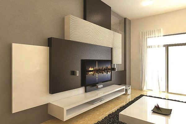 panneau mural pour tv revtement mural imitation bois de grange po x po brun with panneau mural. Black Bedroom Furniture Sets. Home Design Ideas