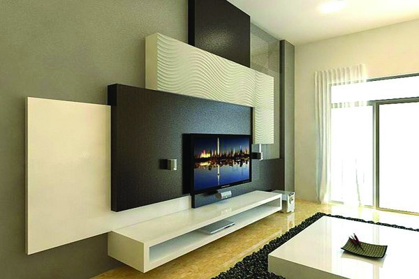 am nagement salon meuble tv ba13 s n gal sensys afric. Black Bedroom Furniture Sets. Home Design Ideas