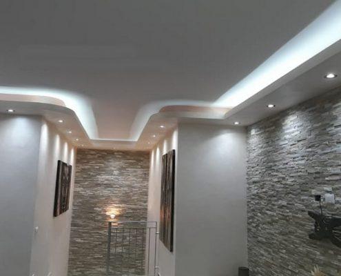 Faux-Plafond-Sensys-Afric-495x400 Second Œuvre Bâtiment - Construction Sénégal  Sensys Afric - Laissez libre court à votre imagination
