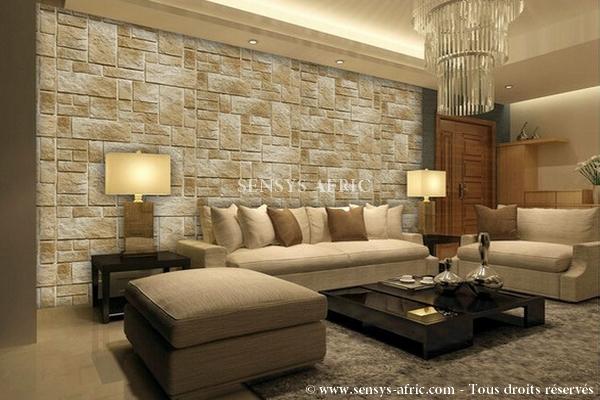Salon-living-room-Revêtement-mural-pierre-naturelle-Dakar-Sénégal Accueil  Sensys Afric - Laissez libre court à votre imagination
