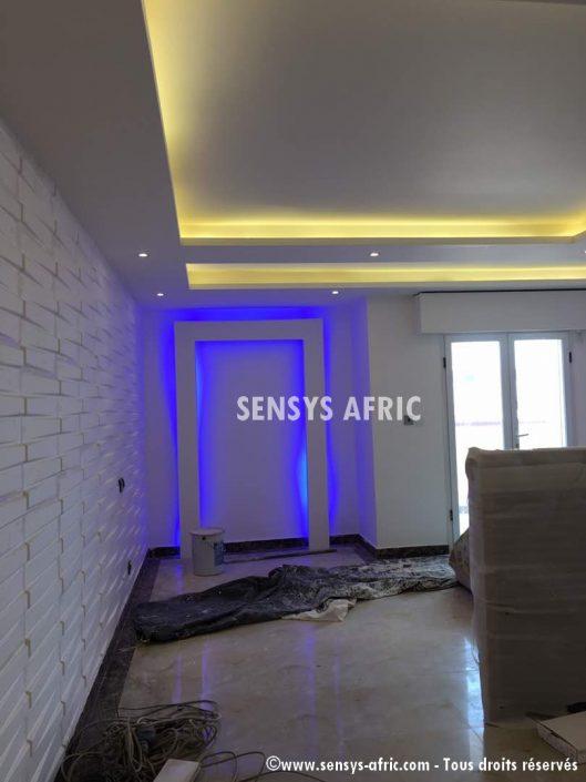 Décoration-Salon-Faux-Plafond-Panneaux-3D-Meubles-TV-Lumineux-BA13-529x705 Faux Plafonds  Sensys Afric - Laissez libre court à votre imagination