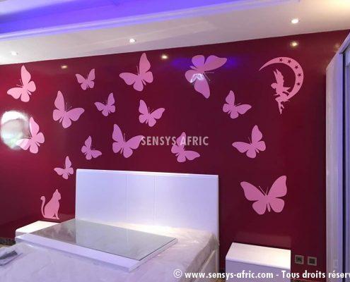 Décoration-chambre-enfant-Dakar-495x400 Décoration chambre enfant  Sensys Afric - Laissez libre court à votre imagination