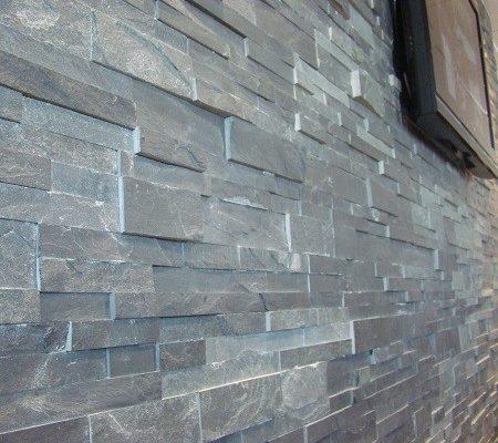 parement-pierre-mur-ardoise-grise_2-450x400 Décoration salon, pièce à vivre ou de séjour  Sensys Afric - Laissez libre court à votre imagination