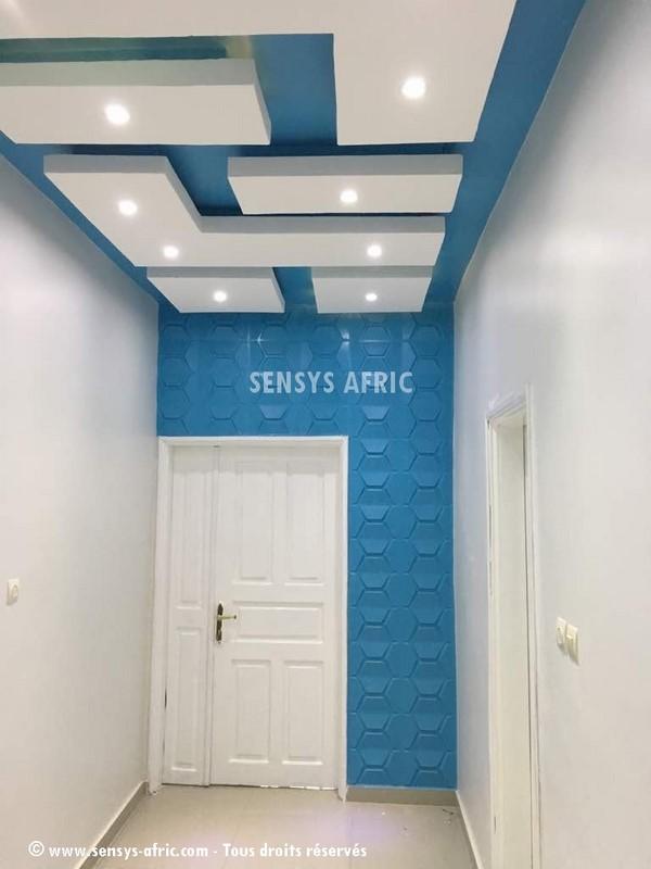 Couloir-1 Rénovation d'intérieur Dakar, Sénégal  Sensys Afric - Laissez libre court à votre imagination