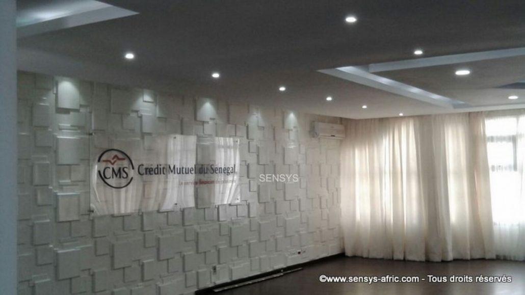 Revêtement-mural-Sensys-Crédit-Mutuel-du-Sénégal-2-1030x579 Rénovation d'intérieur Dakar, Sénégal  Sensys Afric - Laissez libre court à votre imagination