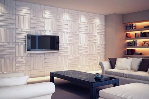 Décoration-salon-Panneaux-3D-Sensys Décoration Salon Moderne