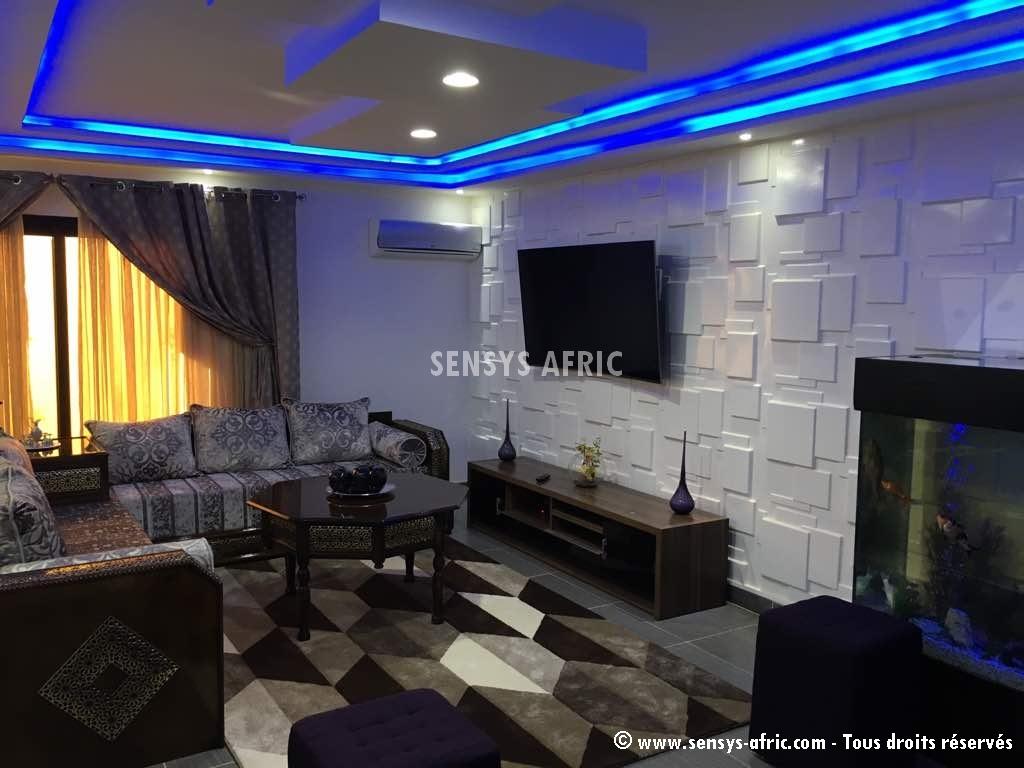 Decoration-salon-aménagement-intérieur-Dakar-Sénégal-Sensys-AFric Décoration Salon Moderne