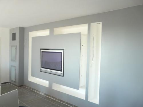 Design-décoration-salon-moderne-déco-intérieur-meubles-lumineux-Sénégal-2 Meubles TV BA13