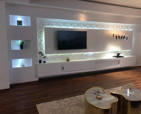 Meubles-Lumineux-salon-Sensys-Afric-meubles-Ola-Déco-.-495x400 Porte en bois à Dakar, Sénégal.
