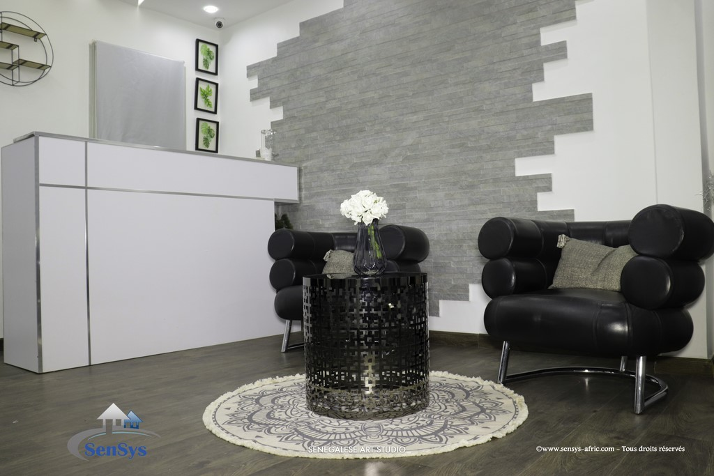 Décoration-boutique-salon-de-beauté-Atélier-Beauty-Dakar-Design-by-Sensys-Afric. Atélier Beauty Dakar