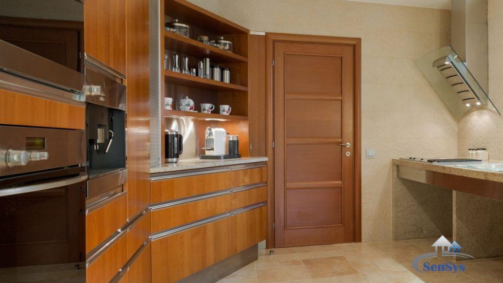 12-1030x579 Rénovation de cuisine à Dakar, Cuisine bois massif Sénégal.