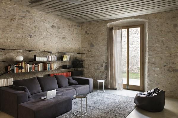 Living-room Pierre Naturelle