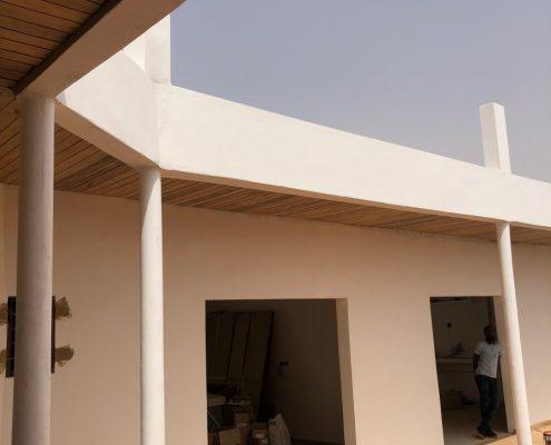 IMG_8074-495x400 Second oeuvre et décoration de maison à Mbour, Gandigale. Chantier en cours.