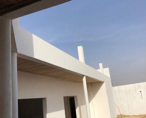 IMG_8524-495x400 Second oeuvre et décoration de maison à Mbour, Gandigale. Chantier en cours.
