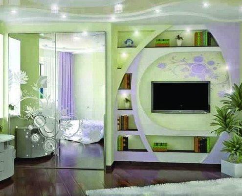 Meuble-TV-Design-495x400 Idées De Décoration