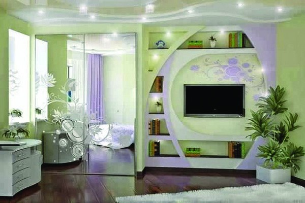 Meuble-TV-Design Meubles TV lumineux