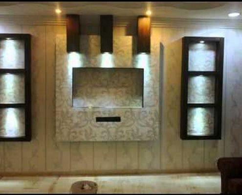 Meubles-TV-lumineux-5-1-495x400 Idées De Décoration