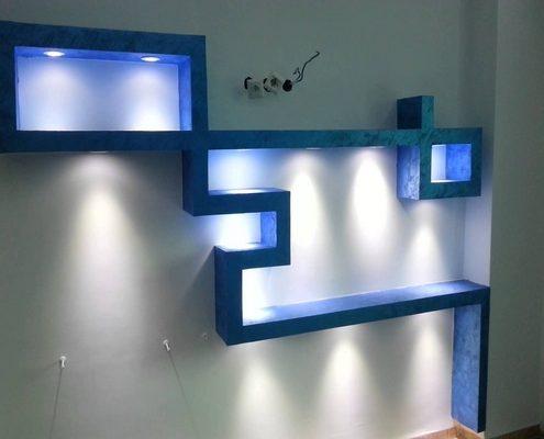Meubles-TV-lumineux-6-1-495x400 Idées De Décoration