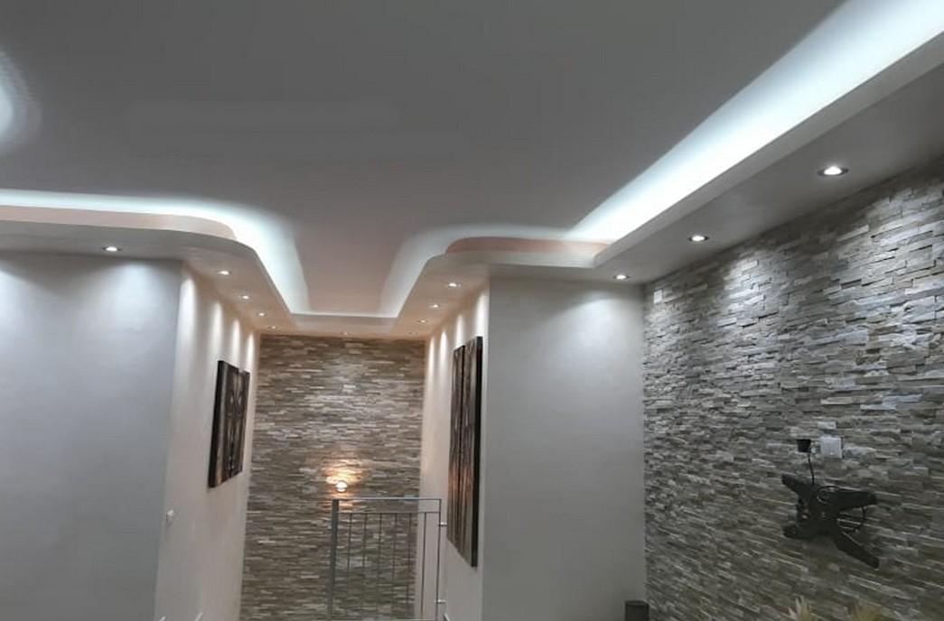 Faux-Plafond-Sensys-Afric Décoration Salon - Model Faux Plafond au Sénégal