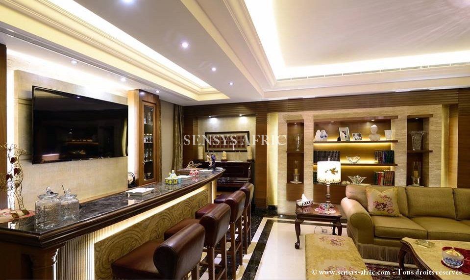 Faux-Plafond-moderne-salon-www.sensys-afric.com_ Décoration Faux Plafond