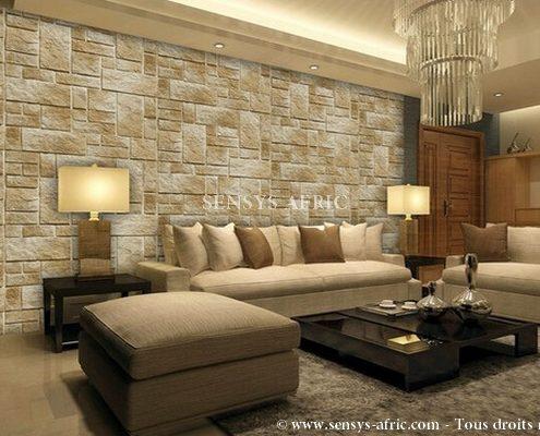 Salon-living-room-Revêtement-mural-pierre-naturelle-Dakar-Sénégal-495x400 Pierre Naturelle