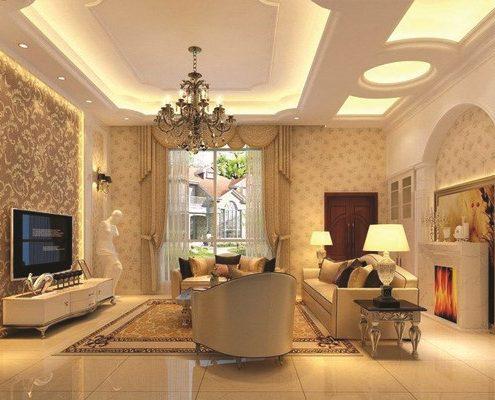 Faux-Plafond-BA13-Sensys-Design-Copier-495x400 Décorateur d'intérieur à Dakar (Sénégal)