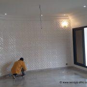 Revêtement-mural-Sensys-POINT-E-180x180 Décoration Salon - Model Faux Plafond au Sénégal