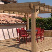 Pergola-bois-Dakar-Sénégal-Sensys-Afric-4-180x180 Pergola au Sénégal - Comment en inclure une dans votre maison.