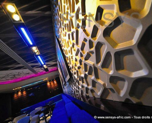 Décoration-Restaurant-Dakar-Thiès-Saint-Louis-Sénégal-Design-Sensys-Afric-495x400 Décoration Salon - Model Faux Plafond au Sénégal