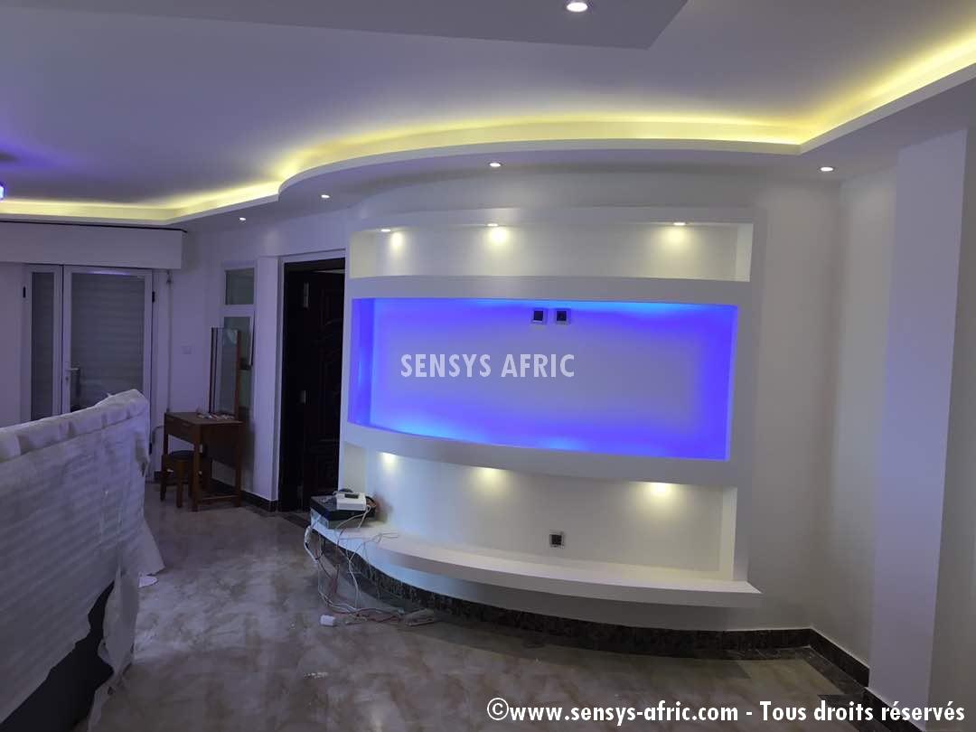 Meuble-TV-lumineux-Sensys-AFric-chambre Meubles TV BA13