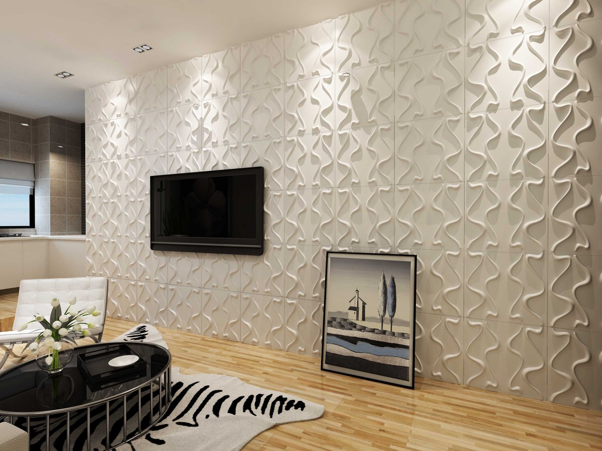 Décoration-living-room-salon-Panneaux-3D-Sensys Décoration intérieure