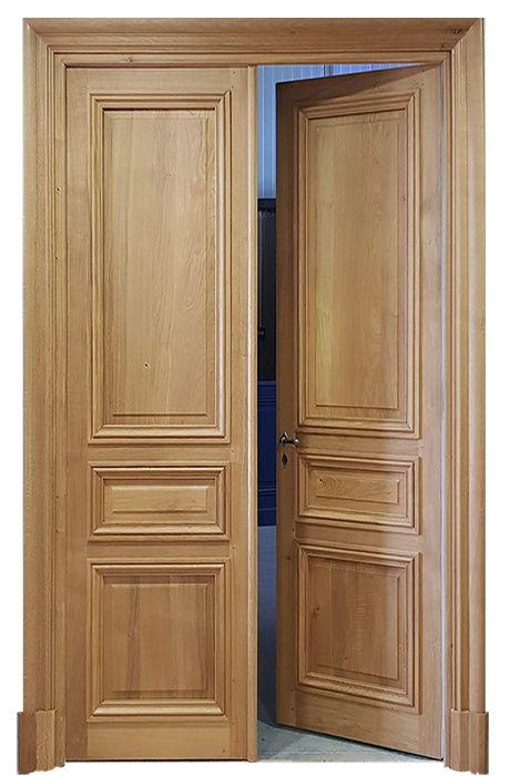 Porte-en-bois-Dakar-Design-porte-Thiès-Saint-Louis-Sénégal-Menuiserie-déco-bois-Sensys-Afric Pourquoi choisir une porte en bois au Sénégal