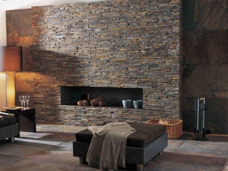 salon-mur-pierre-plaquette-rustique-moderne-BRICK-NEPAL-Lantic-Colonial-porcelanosa Pierre Naturelle